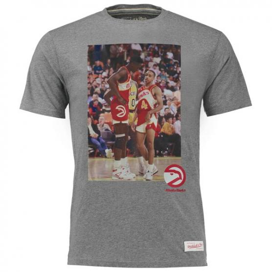 Atlanta Hawks Teammate Wilkins/Webb Colour Mitchell & Ness Tiro Libre SCQ