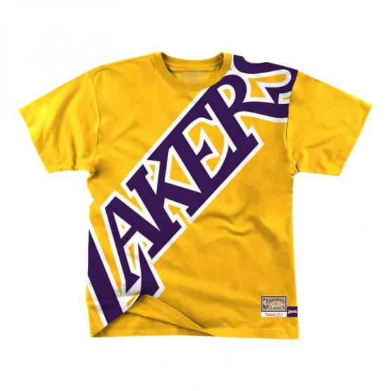 Camiseta Los Angeles Lakers big face TiroLibreSCQ 1