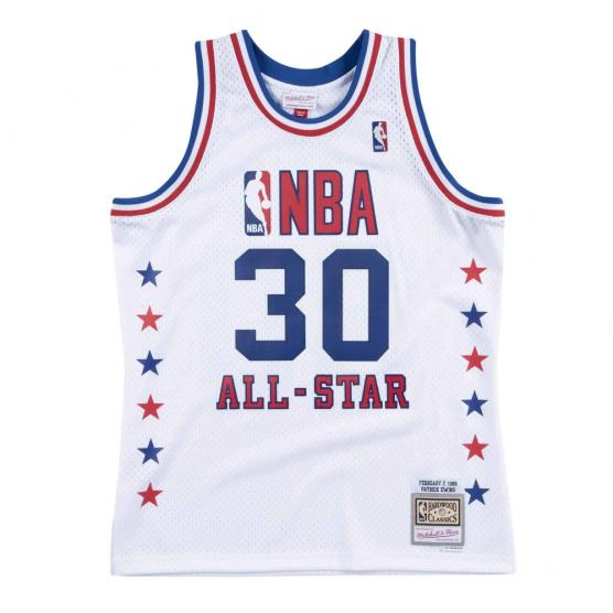 camiseta patrick ewing all star 1988 swingman