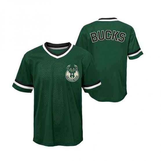 captain mesh ss top milwaukee bucks junior 2