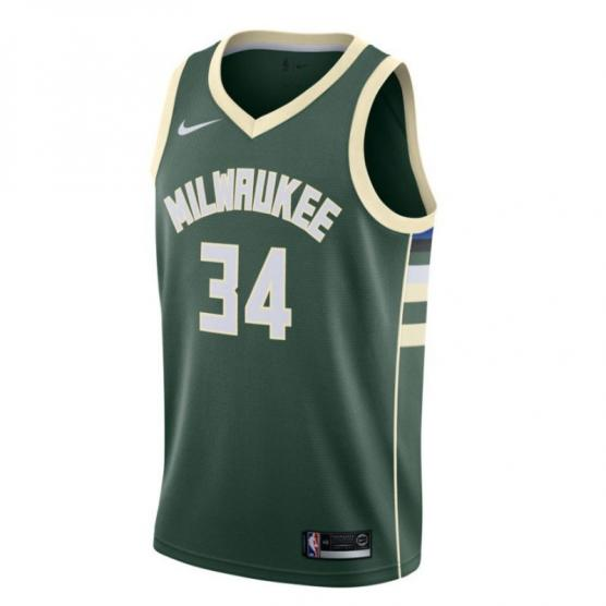 giannis antetokounmpo icon edition swingman jersey milwaukee bucks junior