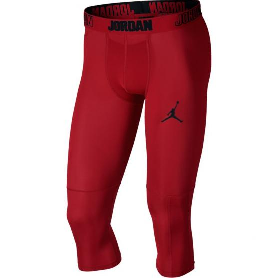 jordan dry 23 alpha 3 4 training tights gym red 1