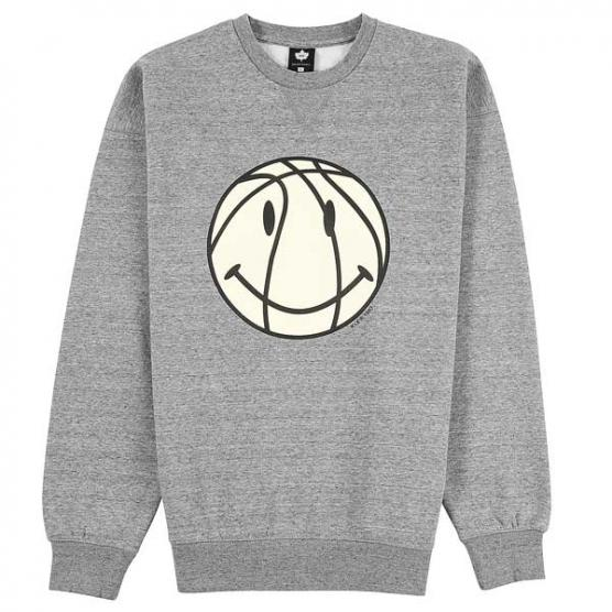 k1x smile crewneck grey heather 1