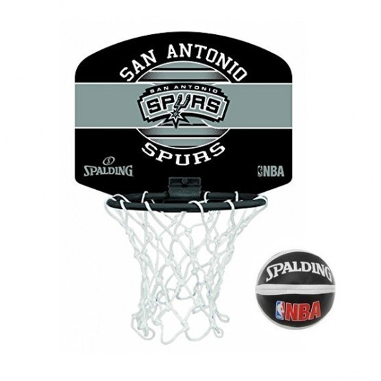 mini canasta nba san antonio spurs con pelota