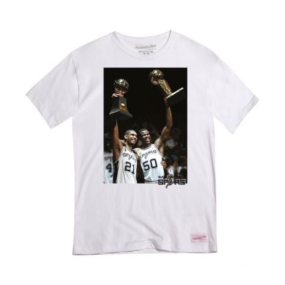 mitchell and ness david robinson Tim duncan San Antonio Spurs Tiro Libre SCQ