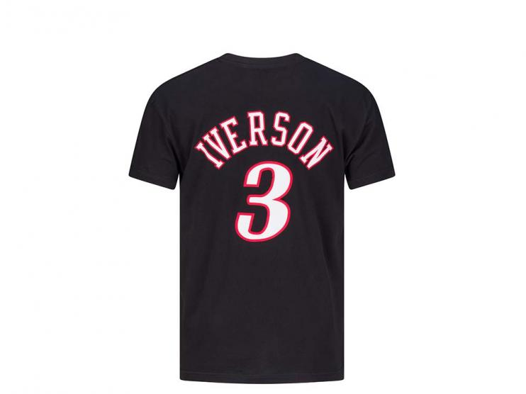 mitchell ness nba name number Iverson Tiro Libre SCQ