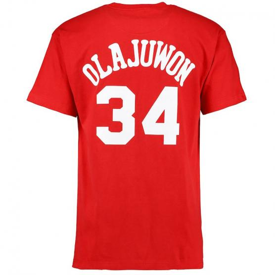 name and number Hakeem Olajuwon Tiro Libre SCQ