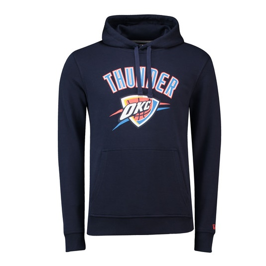 new era oklahoma city thunder po hoody navy 13