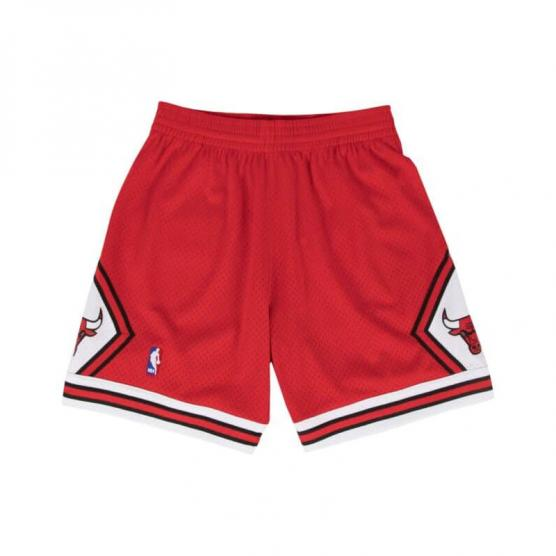 pantalon chicago bulls hardwood rojo