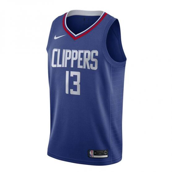 paul george los angeles clippers icon edition swingman jersey 2019 junior