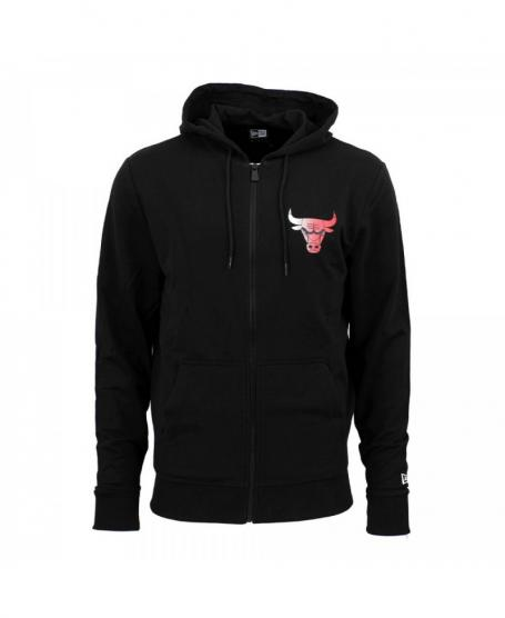 sudadera chicago bulls new era gradient wordmark
