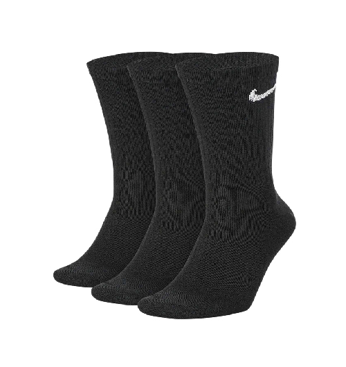 sx7676 010 imagen de los calcetines nike everyday lightweight pack 3 negro 1 frontal